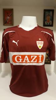 Camisa Futebol Stuttgart Bundesliga Cacau Autografada Jogo