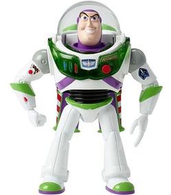 Novo Boneco Buzz Lightyear Toy Story 4 Luz E Som Mattel