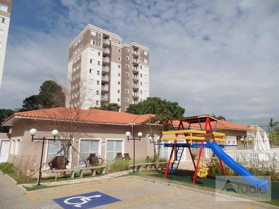 Apartamento Com 2 Dormitórios À Venda, 58 M² Por R$ 250.000 - Jardim Adelaide - Jardim Botânico - Hortolândia/sp - Ap6652