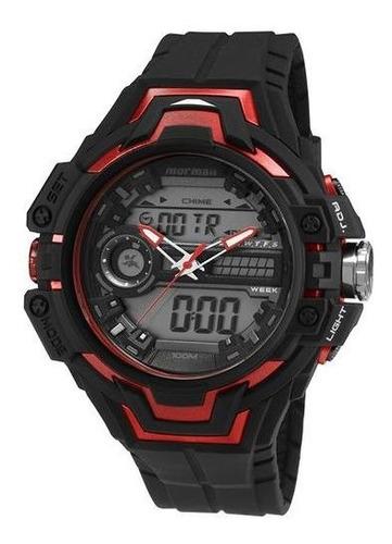 Relógio Mormaii Masculino Acqua Pro Mo1082b/8r Promoção