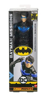 Muñeco Batman Missions 30cm Mattel Original!!