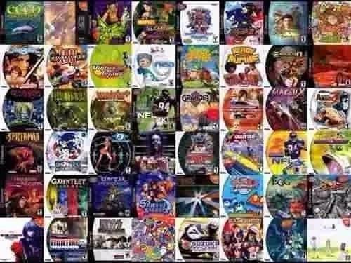 Patchs Para Sega Dreamcast Pacote Com 10 Jogos