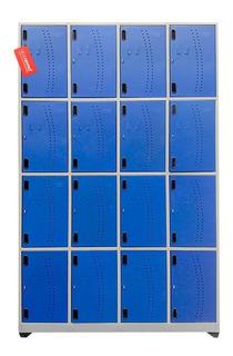 Locker Metálico De 16 Compartimientos