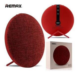 Parlante Bluetooth 4.1 Remax Rojo iPhone Android Retro