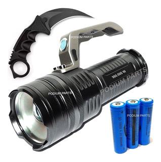 Lanterna Led Holofote Mais Forte Que X900 C/ Nfe
