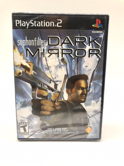 Syphon Filter Dark Mirror Playstation 2 Ps2 Original Lacrado