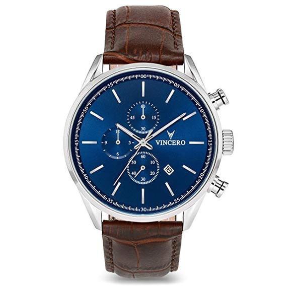 Reloj Vincero Luxury Café Hombre S-chr-blumbr