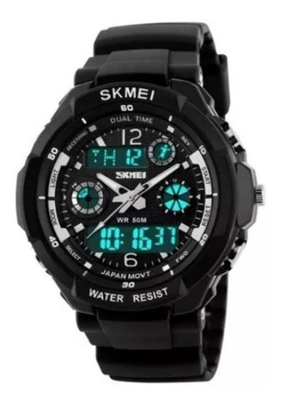 Relógio De Pulso Esporte Masculino Marca Skmei Modelo 0931