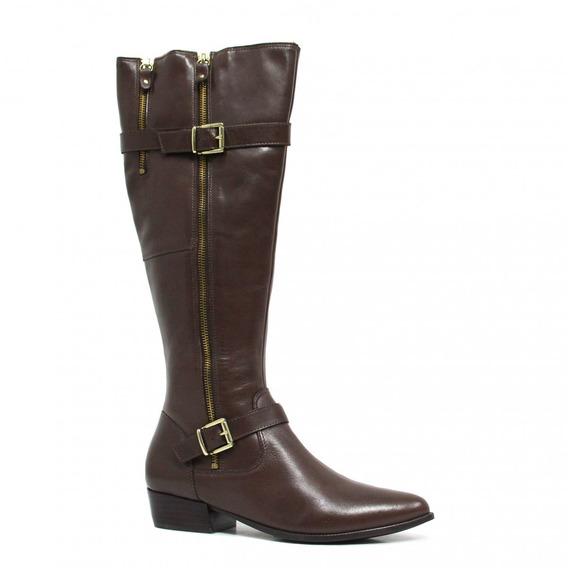 Bota Zariff Shoes Montaria Em Couro Fivela 845zrf