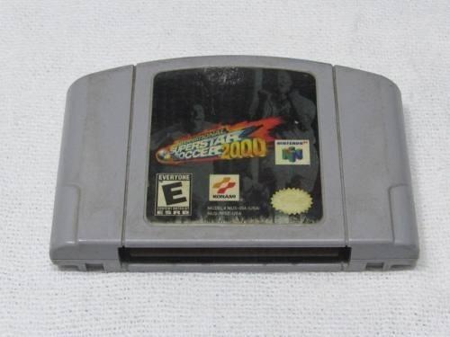 Fita Superstar Soccer 2000 Nintendo 64 Original