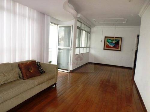 Apartamento Com 4 Dormitórios À Venda, 140 M² Por R$ 1.400.000,00 - Anchieta - Belo Horizonte/mg - Ap0066