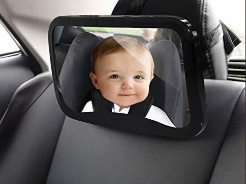 Imagen 1 de 7 de Espejo Retrovisor Para Automóvil Infantil Rras | Fácil De In