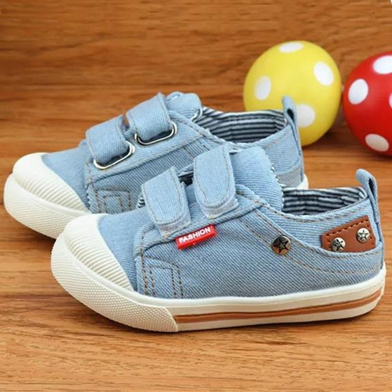 Sapato Unissex Denim Importado Ref543