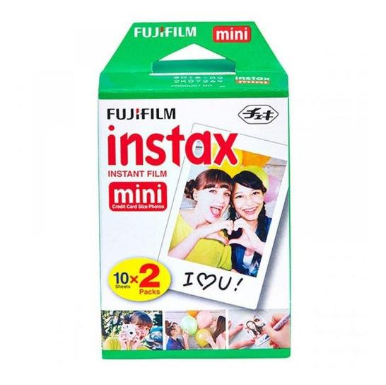 Filme Câmera Instântanea Fujifilm Instax Mini Pack 20 Fotos