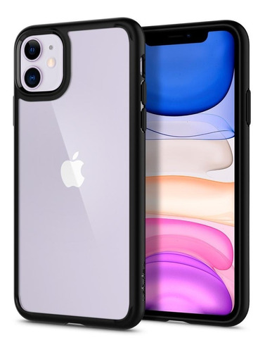 Imagem 1 de 8 de Capa iPhone 11 Spigen Ultra Hybrid Original