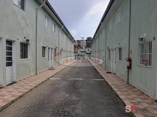 Imagem 1 de 11 de Condomínio Fechado Em Condomínio Para Venda No Bairro Vila Nova Curuçá, 2 Dorm, 1 Vagas, 60,00 M - 2905