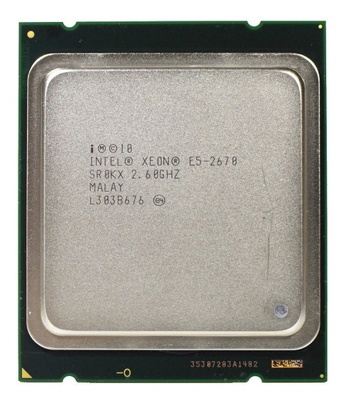 Processador Intel Xeon E5 2670 - Servidor