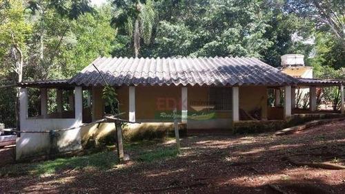 Imagem 1 de 10 de Chácara Com 2 Dormitórios À Venda, 4000 M² Por R$ 290.000,00 - Chácaras Ingrid - Taubaté/sp - Ch0561
