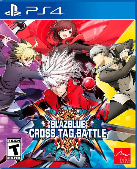 Ps4 Blazblue Cross Tag Battle. Fun Labs