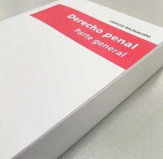 Libro Derecho Penal Parte General Bacigalupo