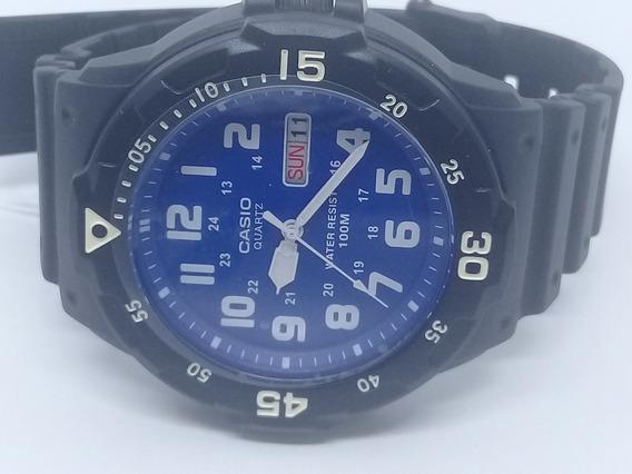 Relógio Masculino Casio Catraca Giratória Analógico Mrw200h
