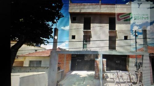Imagem 1 de 1 de Apartamento Cobertura S/ Condomínio Em Parque Novo Oratório - Santo André - 4445