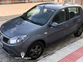 Renault Sandero Expression Vibe 1.6 Hi-flex 2010 Cinza