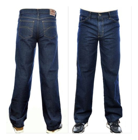 Calça Jeans Masculina Básica Trabalho Kit C/3 Frete Gratis