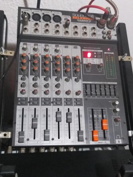Mesa De Som Soundcraft Selênium Sx802fx