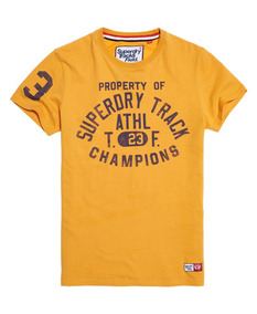 Playera Superdry Trackster T-shirt Track Gold...