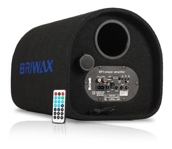 Caixa De Som Canhão Bluetooth 120w Portátil Mp3 Rádio Fm Usb