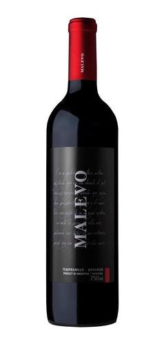 Vinho Argentino Malevo Tempranillo Bonarda Meio Seco 750ml