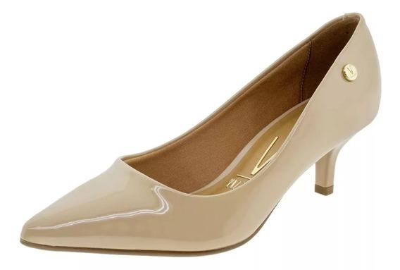 Sapato Feminino Scarpin Salto Baixo Vizzano - 1122628