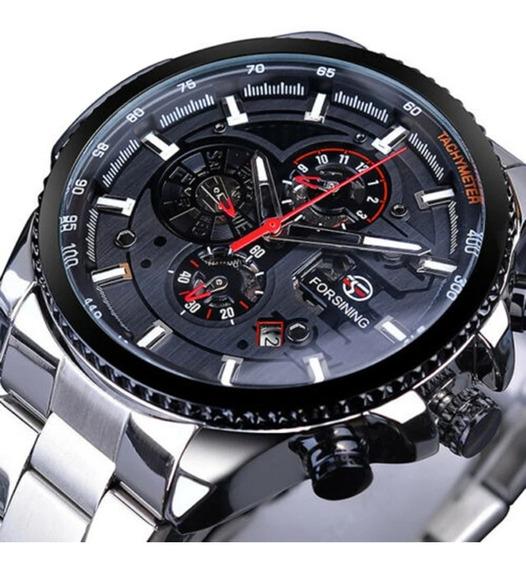 Relógio De Pulso Automático Forsining Relógio De Luxo