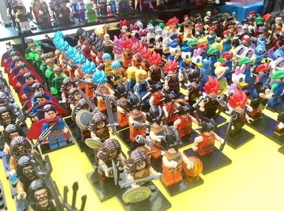 LOTE FIGURAS MINECRAFT ESTILO LEGO 100/% COMPATIBLES BLOQUES DE CONSTRUCCION