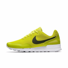 Tênis Nike Air Pegasus 89 Retrô Amarelo Casual Tamanho 40