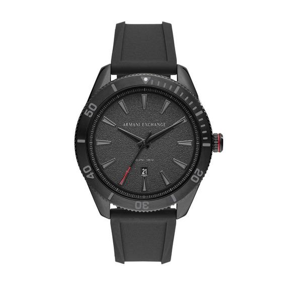 Relógio Masculino Armani Exvhange Ax1829/8pn 46mm Silicone