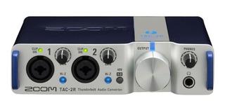 Ftm Interface De Audio Zoom Tac 2 R