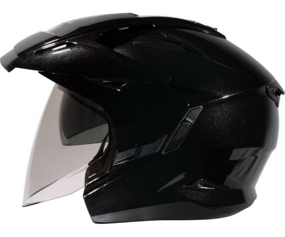 Capacete Moto Zeus 613 Preto