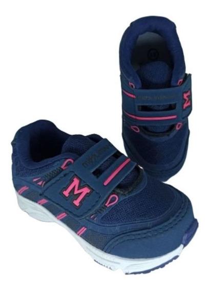 Tênis Mizzuminho M25 Infantil Velcro Promoção