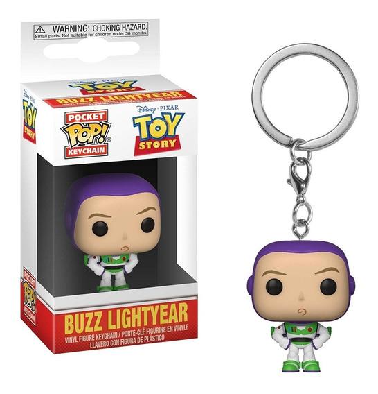 Disney Toy Story Chaveiro Boneco Pop Funko Buzz Lightyear