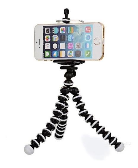 Mini Tripode Flexible Octopus Para Smartphone Y Camaras