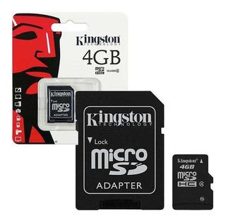 Cartão De Memória Kingston 4gb Micro Sd Lacrado + Garantia!
