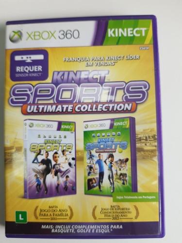 Kinect Sports Ultimate Collection Xbox 360 Original Mídia Fí