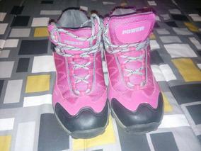 Zapatillas.outdoor Mujer Número 35 Oferta Rosadas