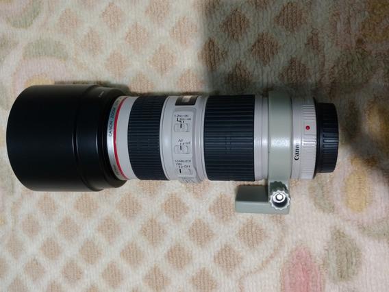 Lente Canon Ef 70-200 F/4 L Is Usm