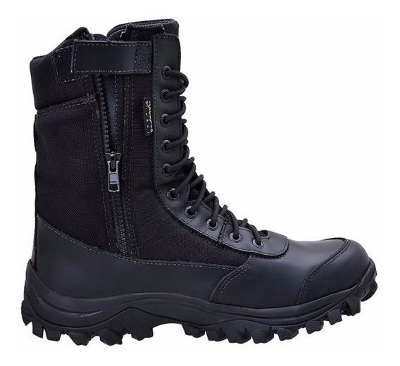 Bota Coturno Airstep Ziper Extra Leve Easy Boot 8628
