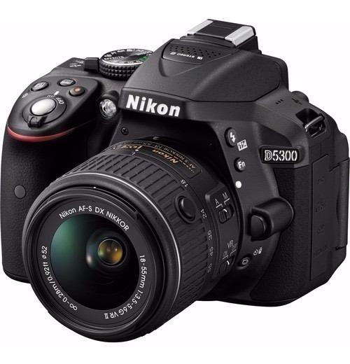 Câmera Nikon D5300 Original Profissional + Bolsa Wi Fi 24 Mp