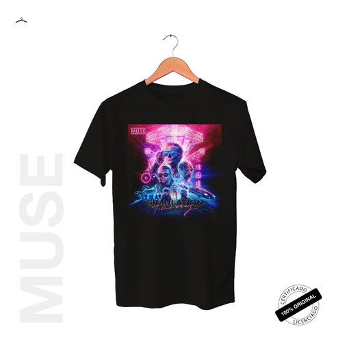Camiseta Oficial Muse Simulation Theory Tour 2019