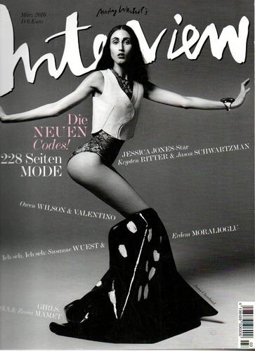 Imagem 1 de 1 de Interview Revista De Cultura & Música Jessica Jones Star